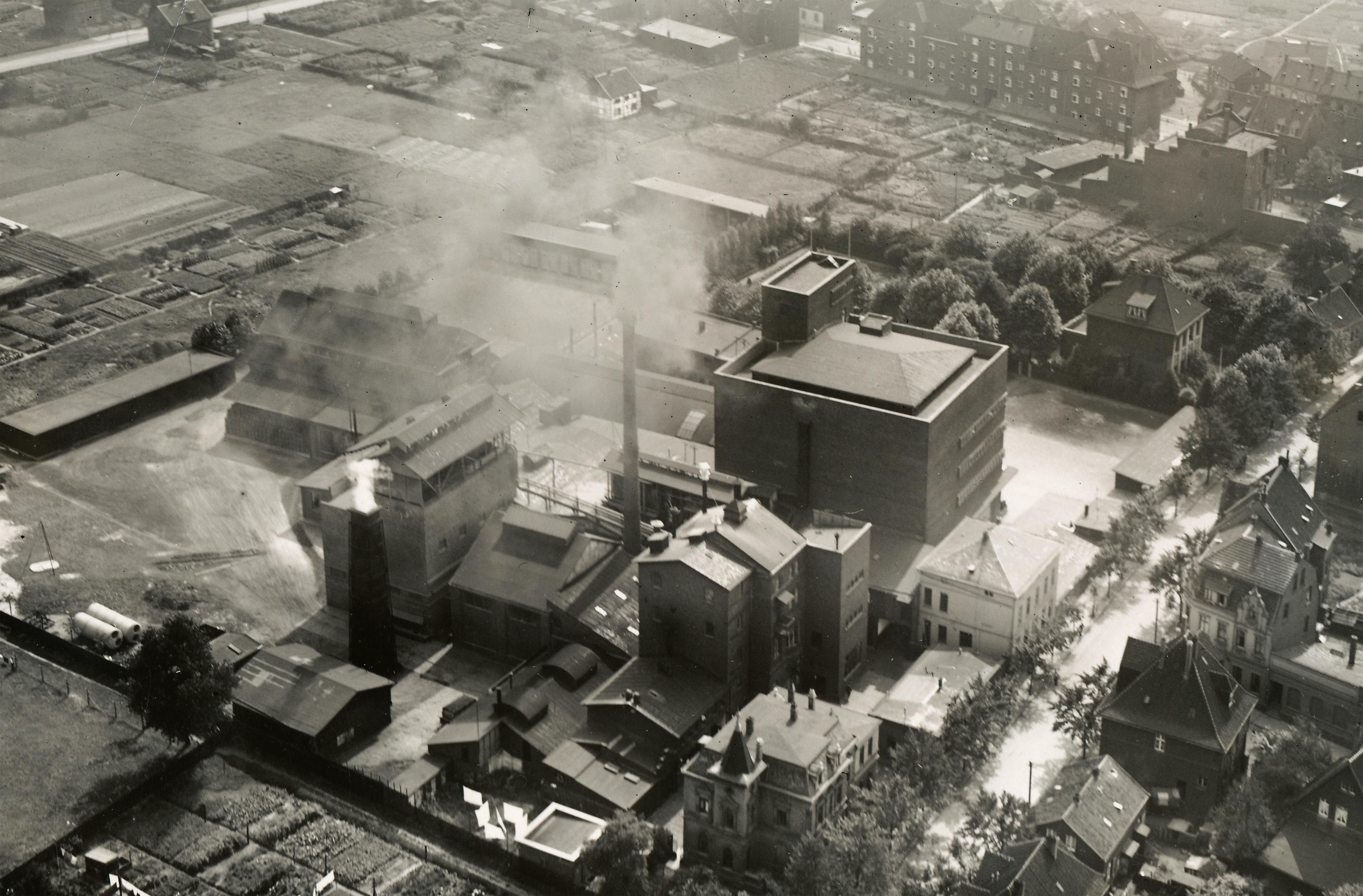 1867 wurde die Brauerei gegründet – seitdem hat das Grundstück in Altenessen zwei Weltkriege überstanden. Foto: Stauder