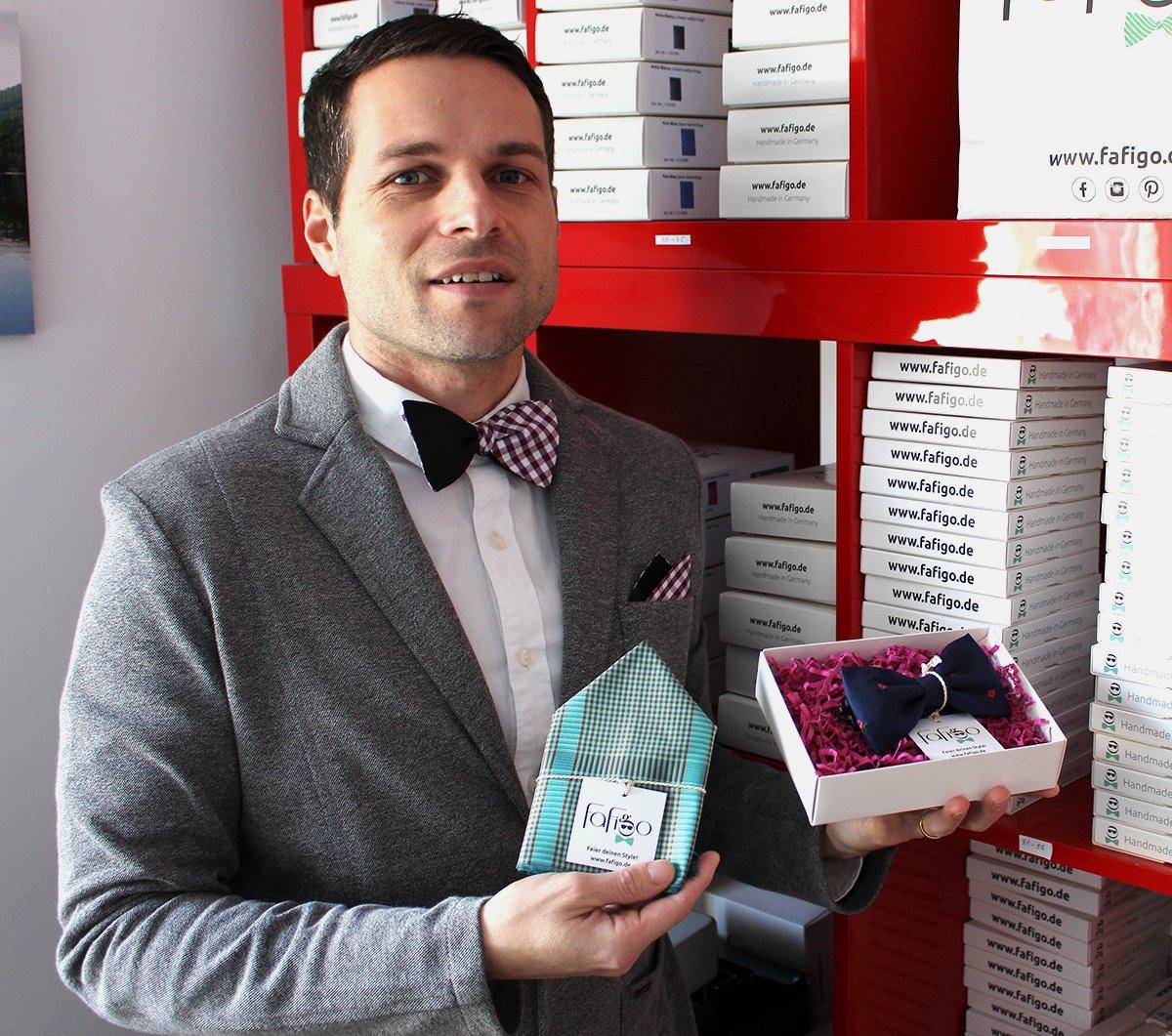 Fafigo-Gründer Steffen Böttner