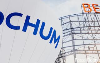 Ballon mit der Aufschrift Bochum