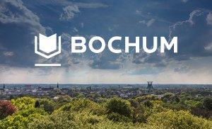 Skyline Bochum mit neuem Logo von Bochum.