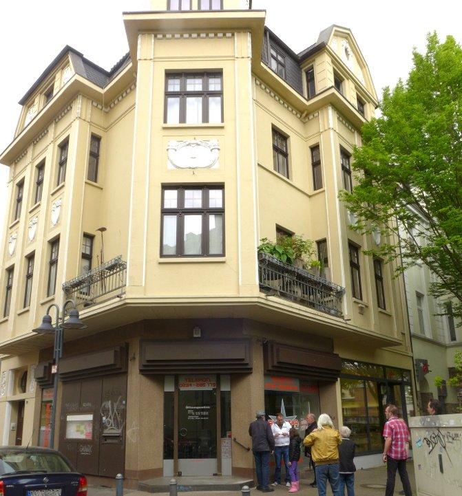 Gelbes Eckhaus in Bochum