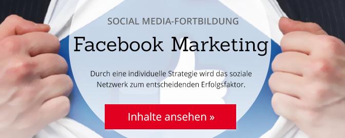 Facebook Marketing (DIM) – mehr Infos zum Lehrgang
