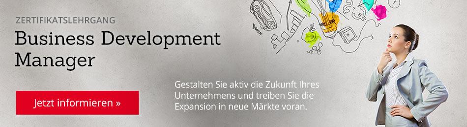 Zertifikatslehrgang: Business Development Manager – jetzt informieren!