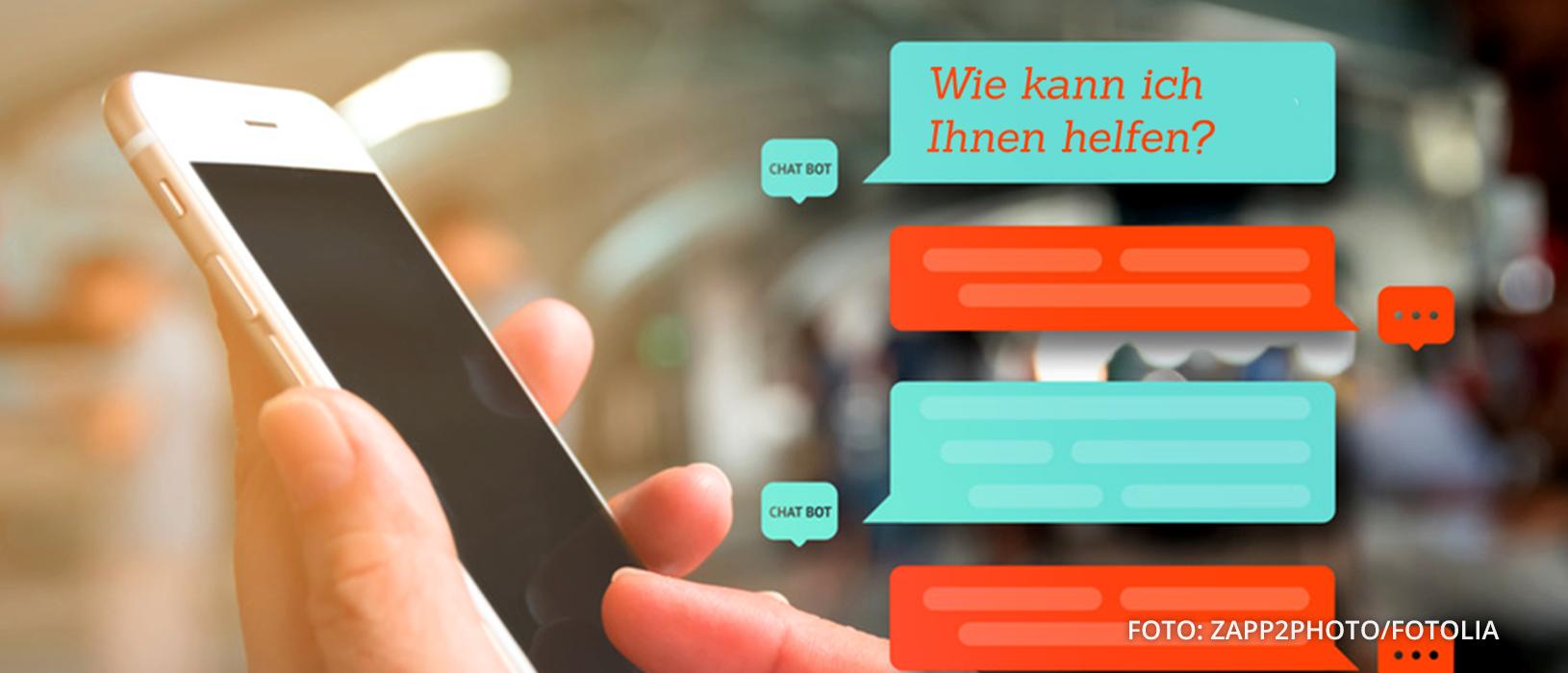 """Die Zahl der virtuellen """"Chatbot""""-Assistenten nimmt weiter kräftig zu. Foto: Zapp2Photo/Fotolia"""