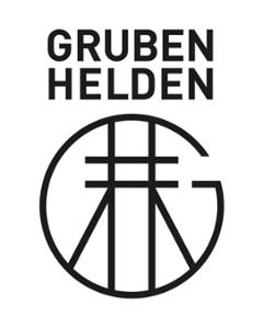 Das Logo der Firma Gruben Helden