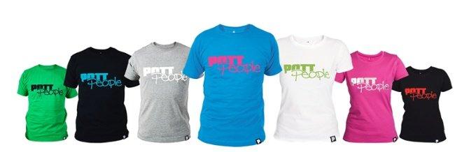 Diverse T-Shirts der Marke