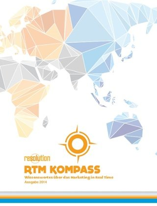 Cover der Zeitschrift Real Time Marketing Kompass
