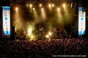 Foto eines Konzerts auf der Ruhrbühne.