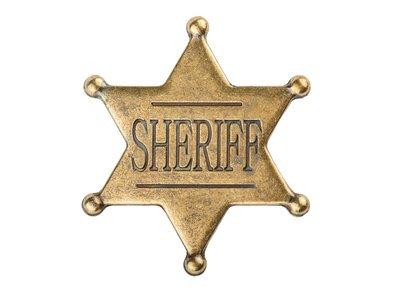 Ein Sheriffstern