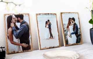 Auf Holzdielen gedruckte Fotos – diese Idee verbreitet das Unternehmen über Influencer Marketing, erklärt Geschäftsführer Kevin Gonska. Foto: LumberPrint