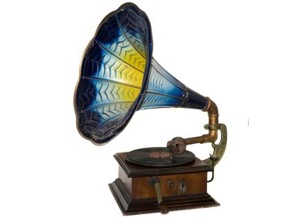 Ein Grammophon