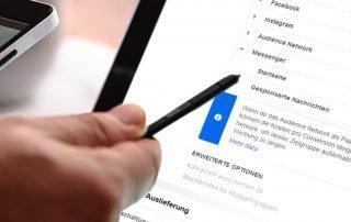 Die neuen Werbemöglichkeiten der Facebook-Plattform brechen ein Tabu. Foto: Marketing im Pott