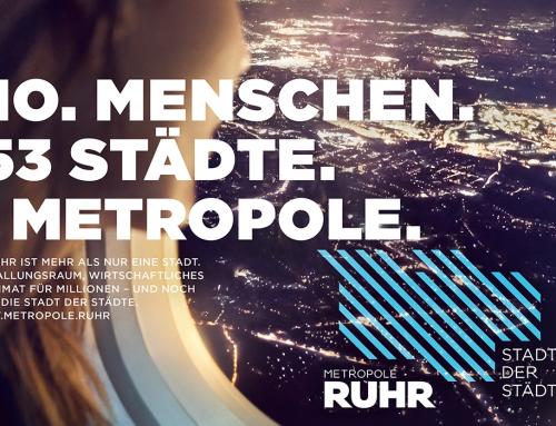 """Neues Image für das Ruhrgebiet: """"Die Stadt der Städte"""""""