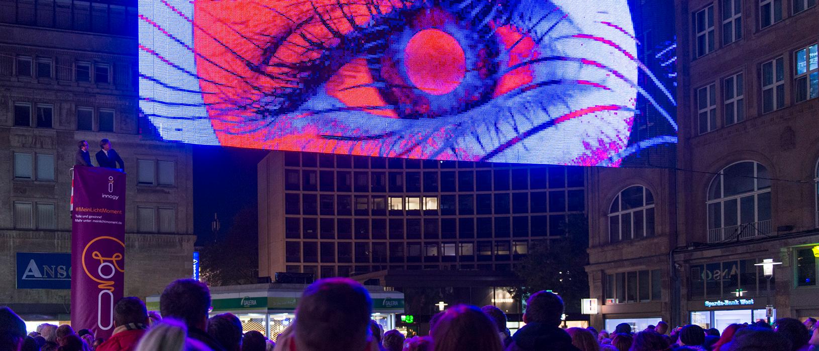 Die Lichtwochen in Essen werden 2017 zum besonderen Hingucker. Foto: Kirsten Neumann