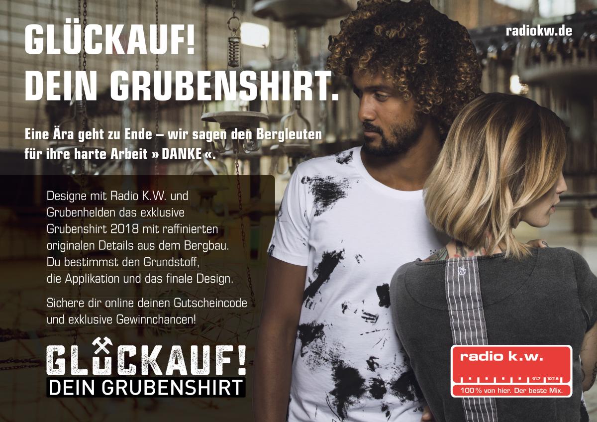 Die Print-Anzeige der Aktion in der Bild-Zeitung am Beispiel von Radio K.W. – Ansicht: Westfunk GmbH & Co. KG
