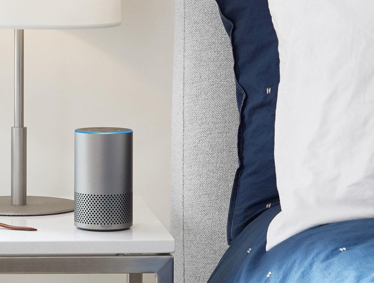 Amazon Echo erobert mit Alexa zunehmend deutsche Wohnungen. Foto: Amazon.com, Inc.