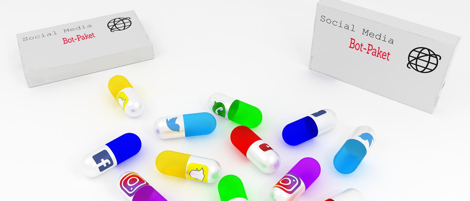 Social Bots können auch für Unternehmen zur Falle werden. Foto: Pixabay/Marketing im Pott