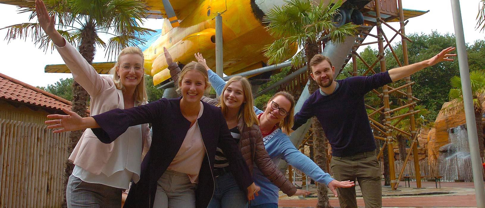 Der Freizeitpark Irrland in Kevelaer-Twisteden entstand ab 1999 aus einem Bauernhof mit Maislabyrinth und wuchs über die Jahre zu einem Park mit einer Fläche von etwa 300.000 Quadratmetern heran. Heute zählt er zu den beliebtesten Freizeitattraktionen in der Region. Foto: Wirtschaftsförderung