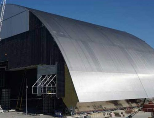 Schrauben aus NRW halten Tschernobyl-Sarg zusammen