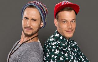 """Nicht nur Marketinggrößen erhalten den """"Tacken"""": In der Rubrik """"Kopf des Jahres"""" wurde 2019 das Essener Rap-Duo """"Kopf des Jahres"""" ausgezeichnet. Foto: 257ers"""