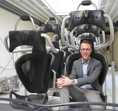 Manuel Prossotowic ist Marketingdirektor beim Movie Park Germany