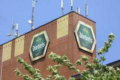 Außenansicht der Diebels Brauerei an der Josef-Diebels-Straße. Foto: Ulla Michels / FUNKE Foto Services