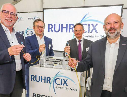 Internetknoten steigert Internetqualität im Ruhrgebiet