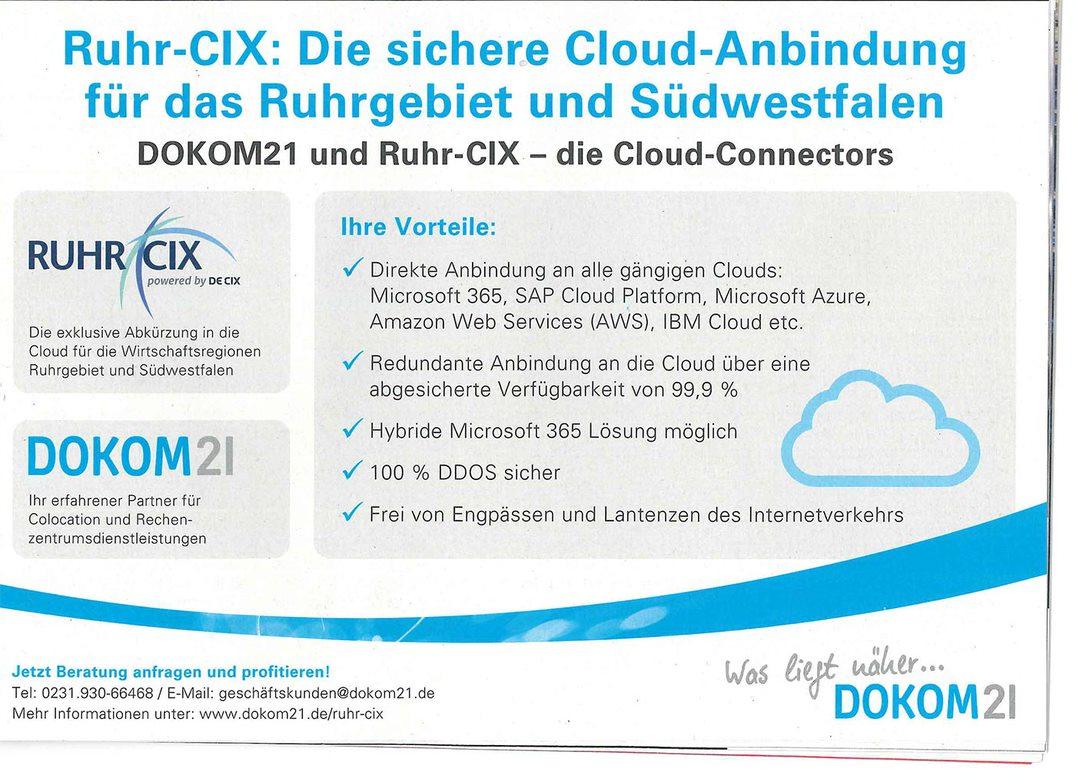 Ansicht Ruhr-CIX Display Ads auf ct online – Zeitraum: November/Dezember 2020